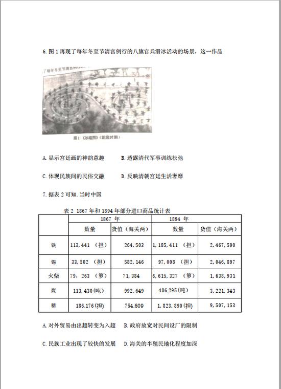2021年湖南高考历史真题已公布