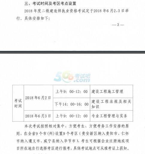贵州二建准考证打印时间图片