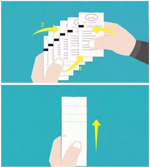 鱼鳞贴票法---让票据服服贴贴,报销妥妥当当~
