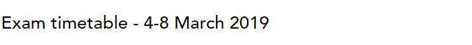 2019年3月ACCA考试时间已公布