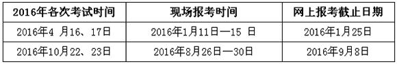 2016年广西自学考试有关工作通知