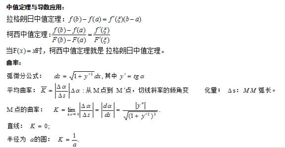 2017年成人高考专升本《高等数学》复习笔记(2)