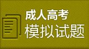 2019成人高考模拟试题库