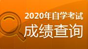 2020自学考试成绩查询