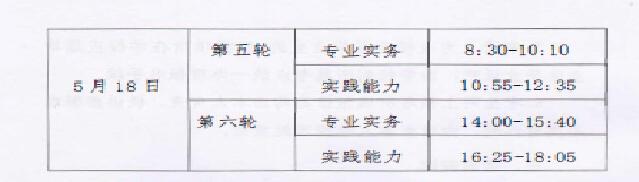 新疆2020年护士执业资格考试时间及具体安排