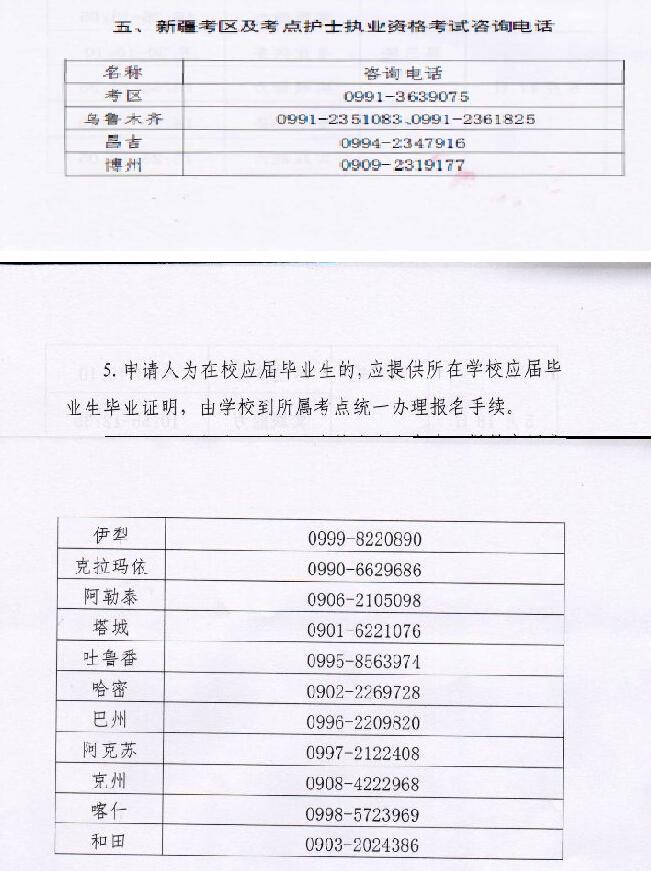 新疆2020年护士执业资格考试报名时间已公布