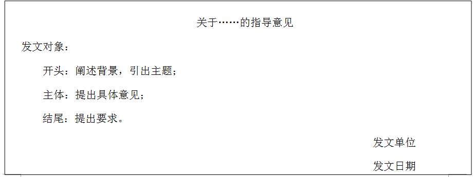 公务员遴选公文写作:常见文种作答提示汇总